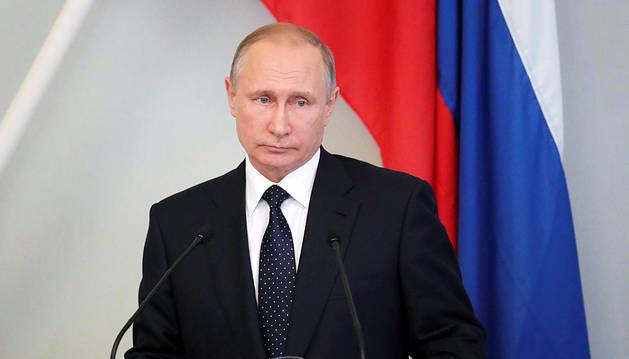 Putin achaca las nuevas sanciones de EE UU a una