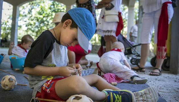 Imágenes del día de niño de las fiestas de Puente la Reina