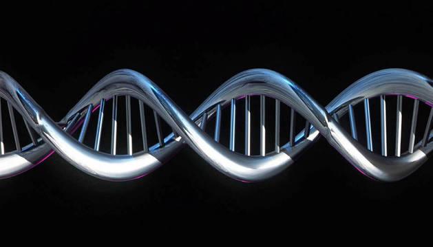 Imagen de una secuencia de ADN.