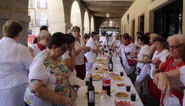 Imágenes del último día de fiestas de Puente la Reina.