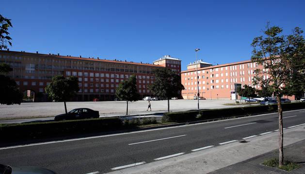 Pamplona modifica el dise o de la parcela para el ies de for Pisos en san jorge pamplona