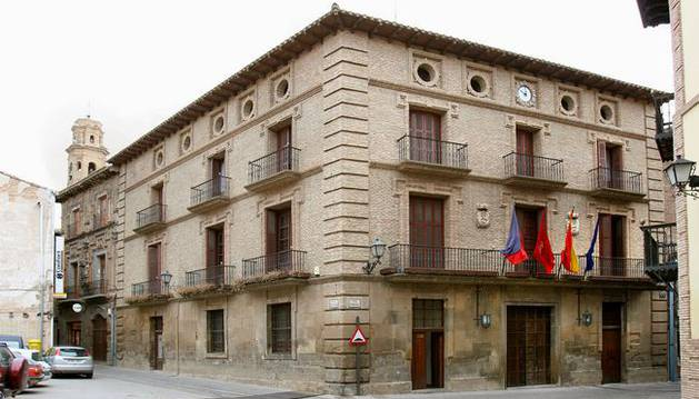 Imagen del Ayuntamiento de Corella.