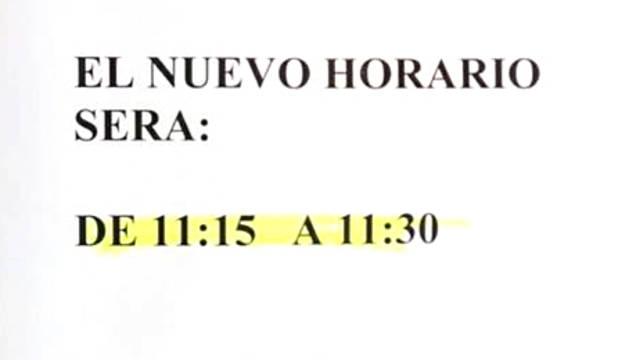 La oficina de correos que solo abre 15 minutos al d a for Horario oficina de correos valencia