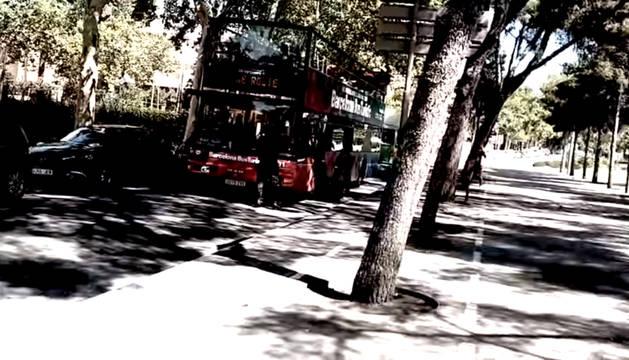 Foto del ataque antiturístico de Arran en Barcelona.