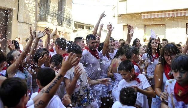 Fotos del comienzo de las fiestas en Cascastillo.