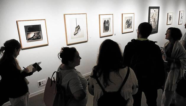 Algunas de las obras que aparecen en la exposición.