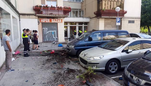 Detenido por arrojar objetos por la ventana en Orvina