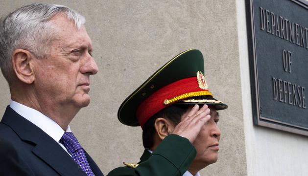 El secretario de Defensa de EEUU, James Mattis.