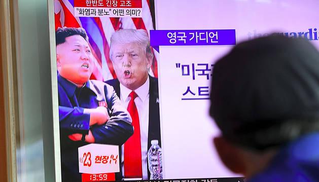 Trump mantiene la tensión nuclear con Corea del Norte y Tillerson la modera