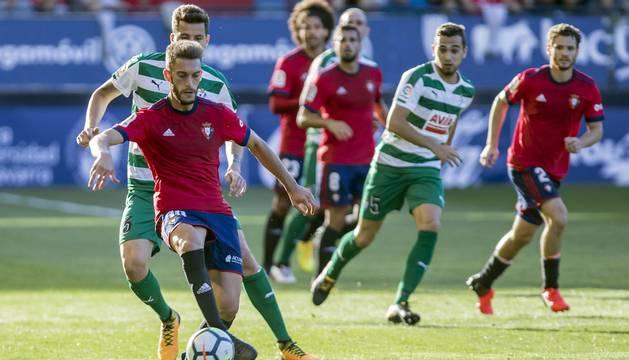 Encuentro de pretemporada disputado el viernes 11 de agosto de 2017 en el estadio de El Sadar.