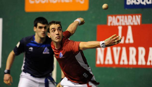 David Merino, Merino II, fue el mejor en  Labastida y llegó con Irribarria a la final.