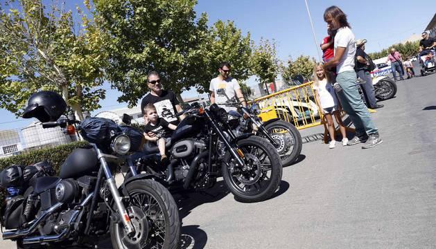 Concentración de motos 'La Pellejo' en Ribaforada