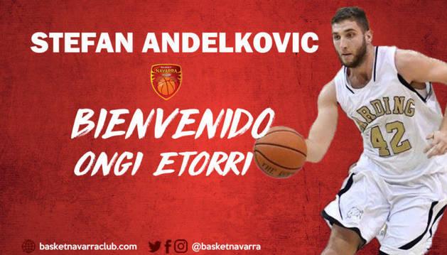 Foto de Andelkovic debutará como profesional en Pamplona.