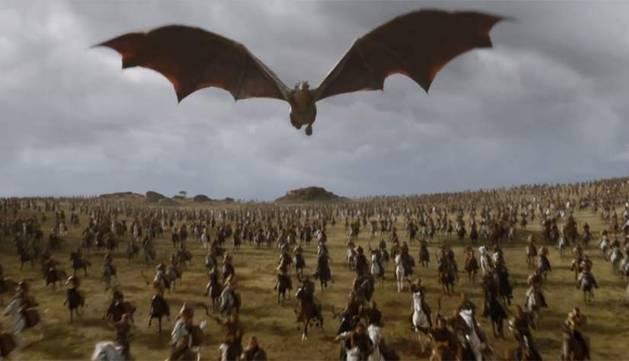 Fotograma del último episodio de 'Juego de Tronos'.