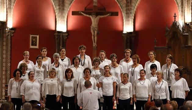 El coro de voces blancas Enara de Bayona