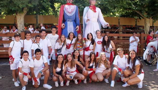 Cohete de las fiestas de Monteagudo