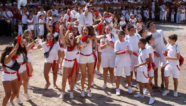Imágenes del comienzo de las fiestas en honor a San Roque.
