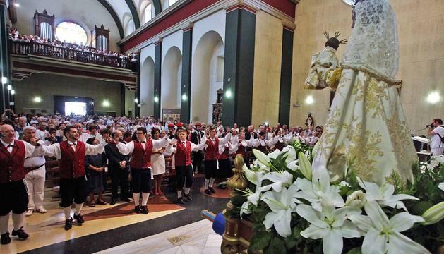 Imágenes de la procesión de Burlada 2017.