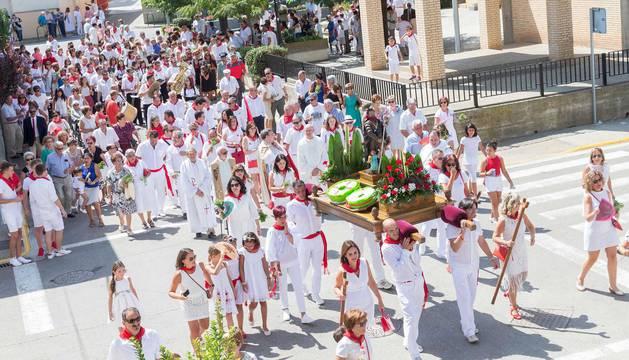 Imágenes del día grande de las fiestas de Cabanillas