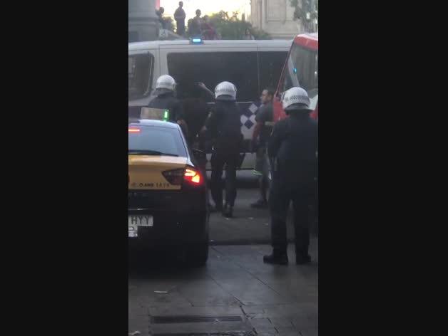 Detención de uno de los terroristas de Barcelona