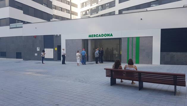 Imagen exterior del establecimiento abierto ayer en Sancho el Fuerte.