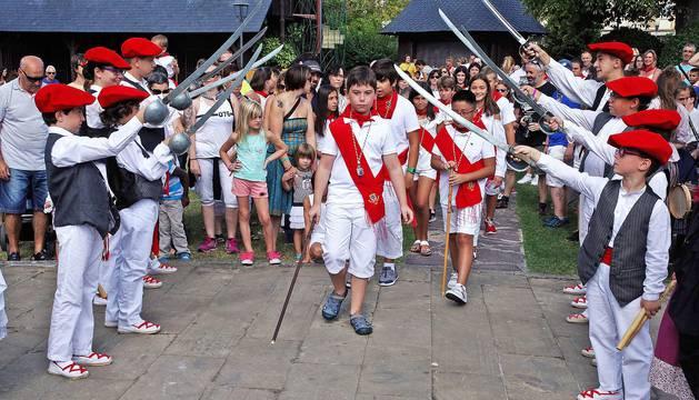 Imágenes del día del niño de las fiestas de Burlada.
