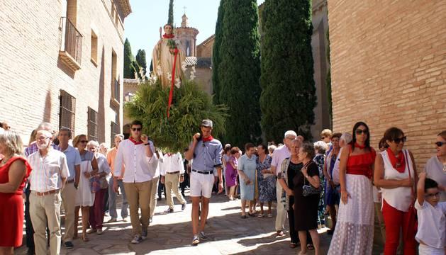 Imágenes de la procesión de las fiestas de Tulebras.