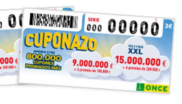 El cuponazo de la once reparti euros en corella for El cuponazo de la once