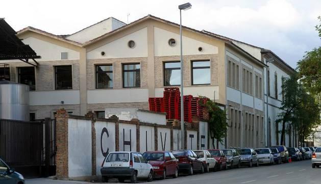 Imagen de las Bodegas Chivite, en Cintruénigo, donde se elabora el vino premiado.