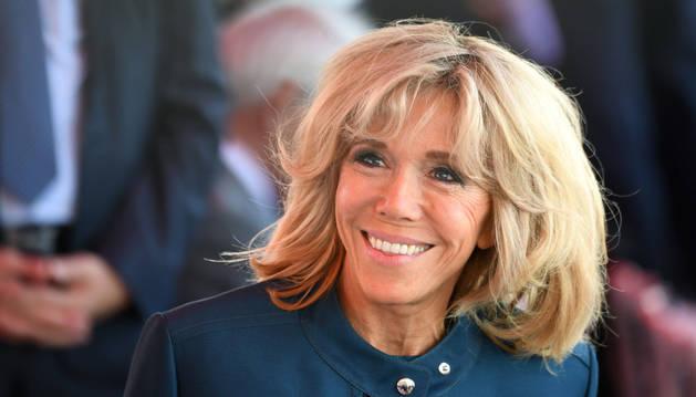 Imagen de Brigitte Macron, mujer del presidente de Francia.