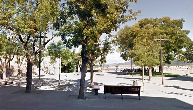 Plaza de la O de Pamplona.