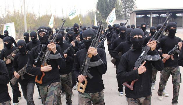 Una milicia takfirí en Siria