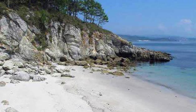 Una de las playas de las islas Cíes.