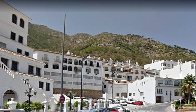 Vista de la localidad de Mijas.