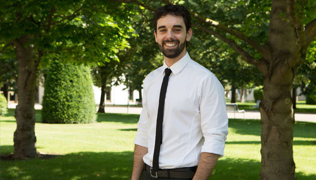 El ingeniero Mikel Ariz Galilea ha diseñado un método para estimar la posición de la cabeza y así poder controlar con los ojos dispositivos electrónicos