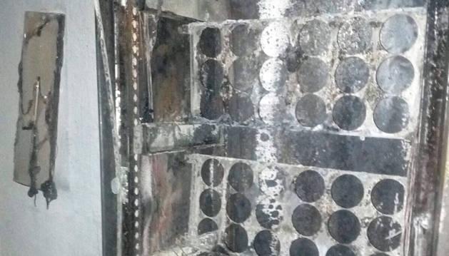Los bomberos sofocan dos incendios en Campanas y Badostáin