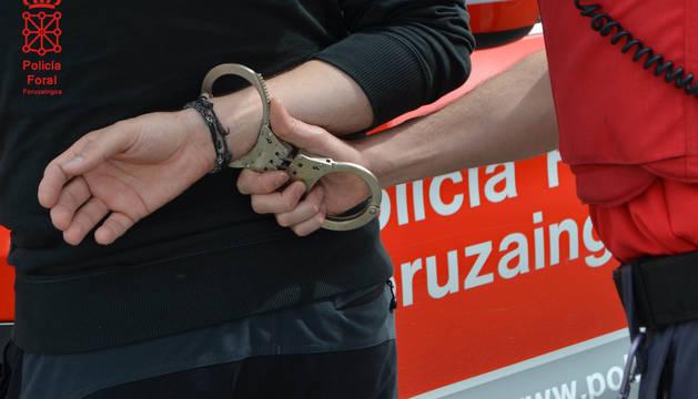 Siete detenidos en los últimos días por violencia de género en Navarra