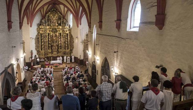 Imágenes del día del patrón de las fiestas de Lumbier.