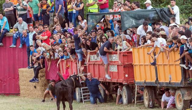 Imágenes del tradicional festejo taurino en la edición de 2017.
