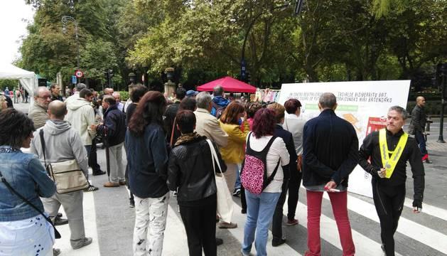 Actividades este domingo para dar a conocer los cambios en el centro de Pamplona.