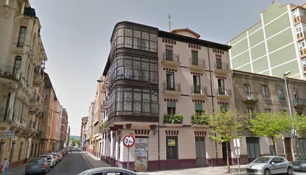 El tiroteo tuvo lugar en la calle Vitoria de Miranda de Ebro.