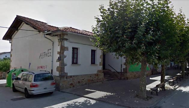 Actual colegio de Arbizu.