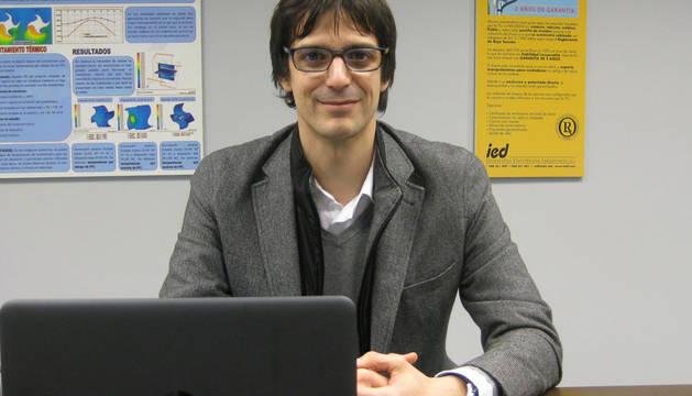 foto de Iñigo Ayerra, CEO de IED Electronics.