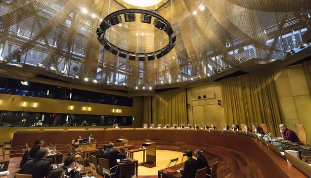 La Gran Sala del Tribunal de Justicia de la Unión Europea