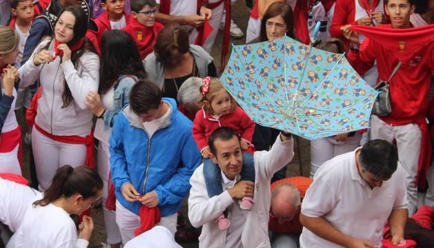 Imágenes del primer días de fiestas de Viana.