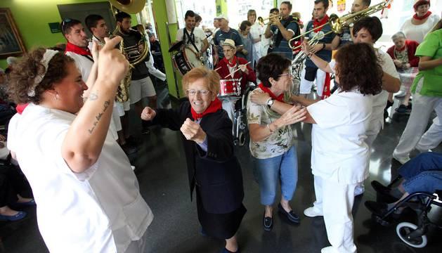 El día de los mayores en fiestas de Cintruénigo 2017