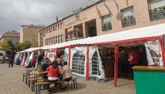 Éxito en Barañáin de la I Feria de Cerveza Artesana y Pulpo gallego