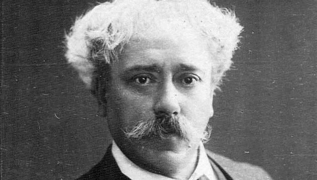 El compositor y violinista pamplonés Pablo Sarasate.