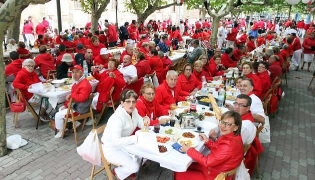 Todas las fotos del Día de las Peñas en fiestas de Fitero