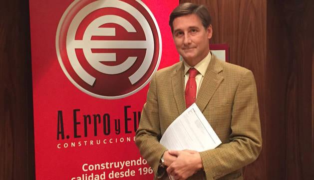 foto de Iñigo Eugui, director general de Construcciones Erro y Eugui.